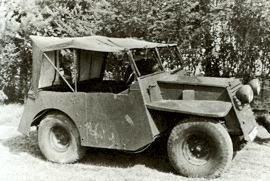 1941 Standard Beaverette IV Light Armoured Car