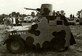 1941 Standard Beaverette IV Turret Top