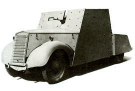 1941 Standard Beaverette II Light Armoured Car
