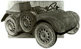1943 SS prototype Ultra Lightweight Model VA