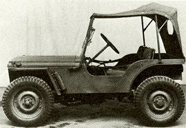 1944 Nuffield Experimental Two Seater