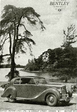 1946 Bentley Mark VI Saloon