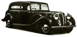 1946 Daimler Straight Eight Model DE36