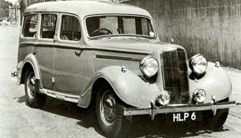 1946 Humber Super Snipe Estate / Van