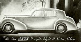 1946 Jensen Straight Eight Saloon