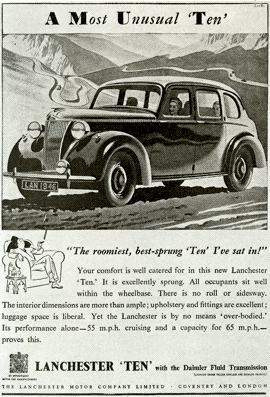 1946 Lanchester Ten, Series LD10