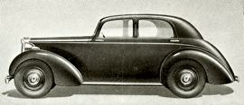 1946 Lea-Francis 12 and 14 HP