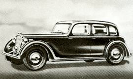 1946 Rover Fourteen Saloon
