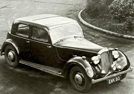 1946 Rover Ten, Twelve, Fourteen, Sixteen and Speed