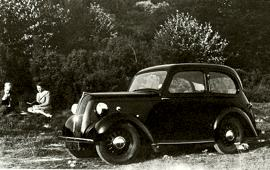 1946 Standard Eight Saloon
