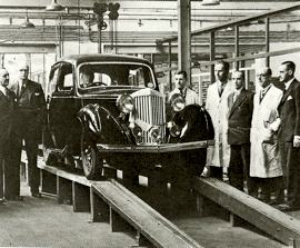 1946 Sunbeam-Talbot Production Line