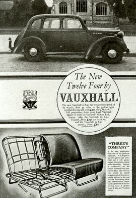 1946 Vauxhall Ten, Twelve and Fourteen