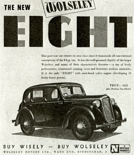 1946 Wolseley Eight