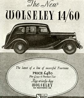 1946 Wolseley Fourteen 14/60