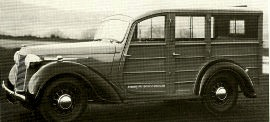 1947 Austin Sixteen Countryman Model BW1