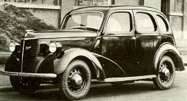 1947 Ford 8 HP Anglia E04A and 10 HP Prefect E93A