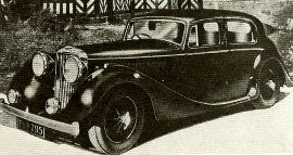 1947 Jaguar 1½-Litre, 2½-Litre and 3½-Litre