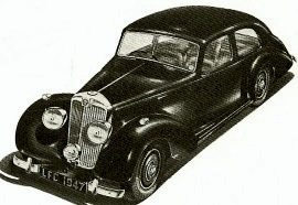 1947 Lea-Francis Twelve and Fourteen Saloon