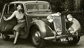 1947 MG 1½-Litre Y-type, Model YA