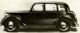 1947 Rover Ten, Twelve, Fourteen and Sixteen Saloons