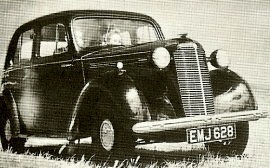 1947 Vauxhall Twelve Series HIX Saloon
