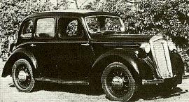 1947 Wolseley Eight, Ten, Twelve (12/48), Fourteen (14/60)