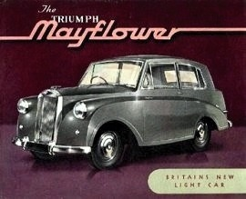 1949 Triumph Mayflower