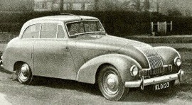 1949 Allard P1 Two-Door Saloon
