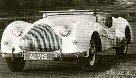 1949 Alvis Fourteen Model TB14 Special Sports Tourer