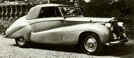 1949 Daimler Straight Eight Model DE36 Drophead Coupe
