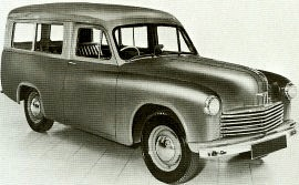 1949 Hillman Minx Mark III Estate
