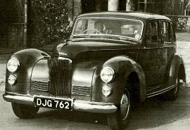 1949 Humber Super Snipe Mark II