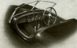 1949 Jaguar XK120 Interior and Dashboard