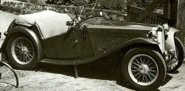 1949 MG Midget TC