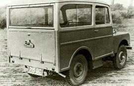 1949 Land Rover Station Wagon