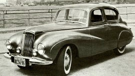 1949 Sunbeam-Talbot 80 and 90
