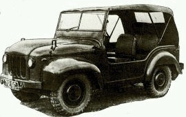1949 Wolseley British Army FV1800 Series ¼-ton 4 x 4 Mudlark