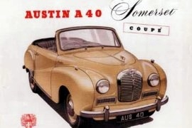 1952 Austin A40 Somerset Coupe
