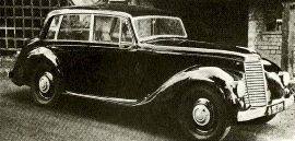 1952 Armstrong Siddeley Whitley Six-Light Saloon