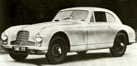 1952 Aston Martin DB2 Saloon