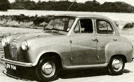 1952 Austin A30 Model AS3 Saloon