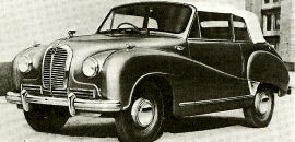 1952 Austin A70 Hereford Model 8D3 Drophead Coupe