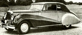 1952 Bentley Mark VI Saloon