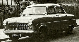 1952 Ford Consul Model EOTA Saloon