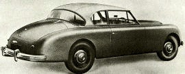 1952 Jensen Interceptor Saloon