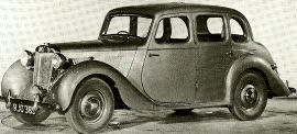 1952 MG 1¼-Litre Series YB Saloon