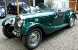 1952 Morgan Plus Four Four-Seater Tourer