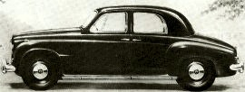 1952 Rover 75 Series P4 Saloon