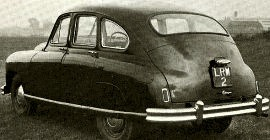 1952 Standard Vanguard Series 20S Saloon