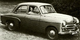 1952 Vauxhall Wyvern Model EIX Saloon